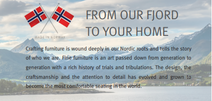 From our Fjord to Your Home