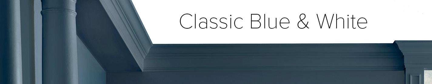 Classic Blue & White