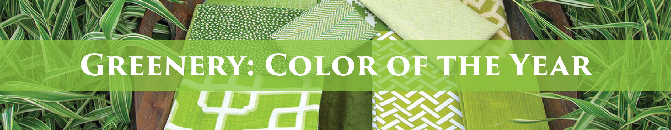 Greenery: Color of the Year